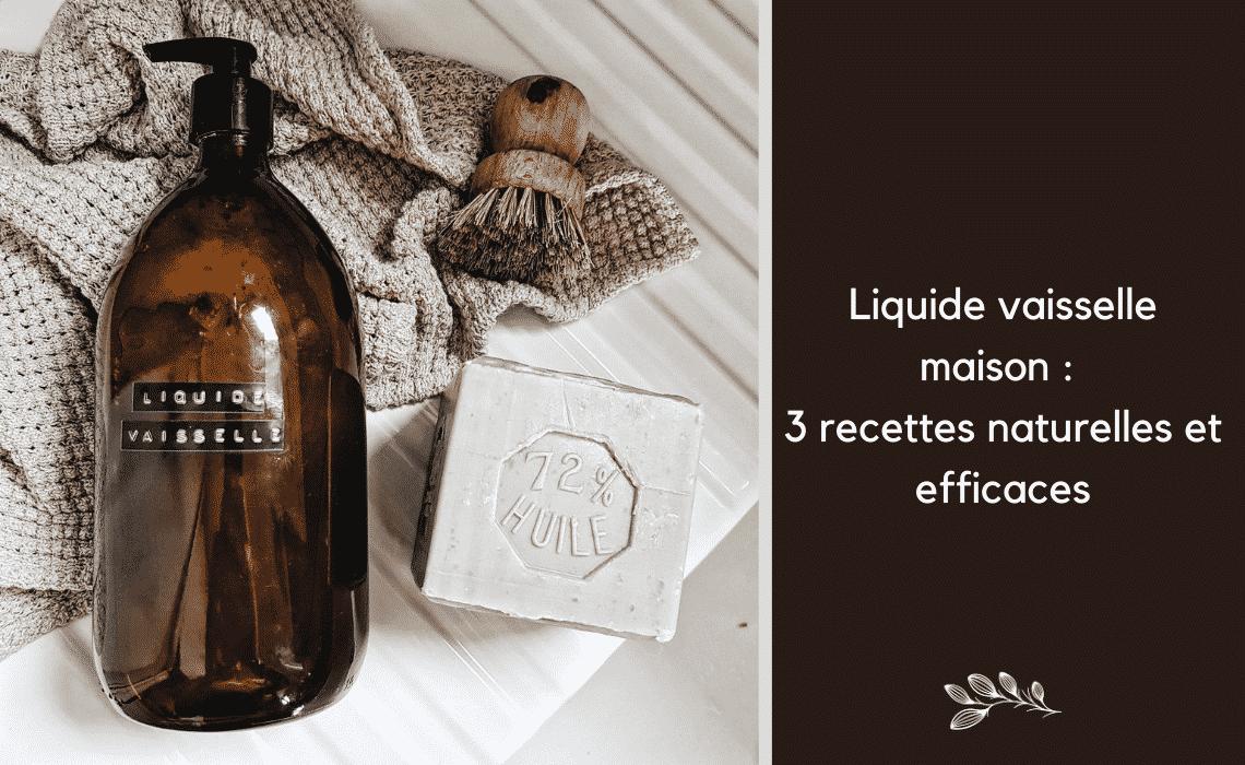 Liquide Vaisselle Maison 3 Recettes Naturelles Et Efficaces Mes Courses En Vrac
