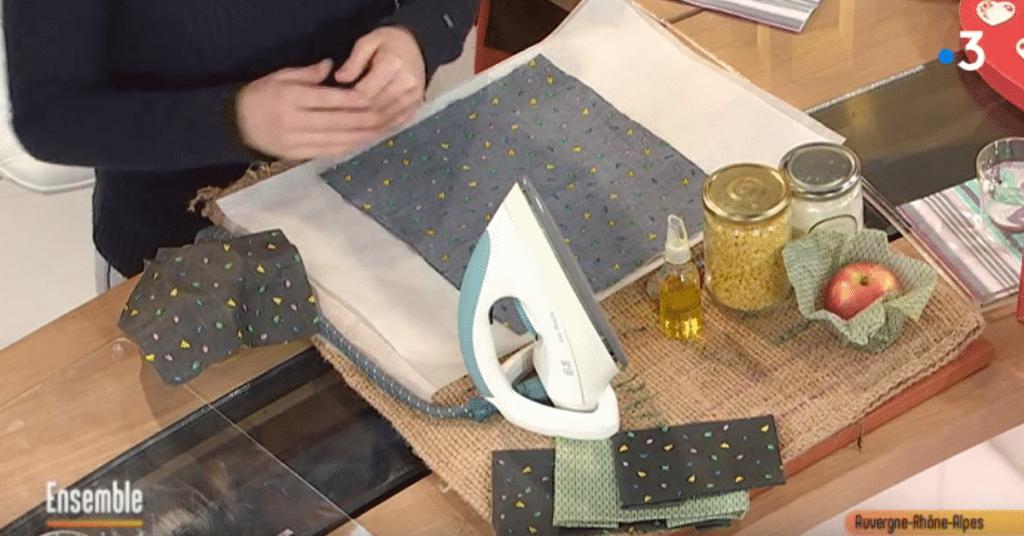 comment fabriquer son emballage en cire d'abeille